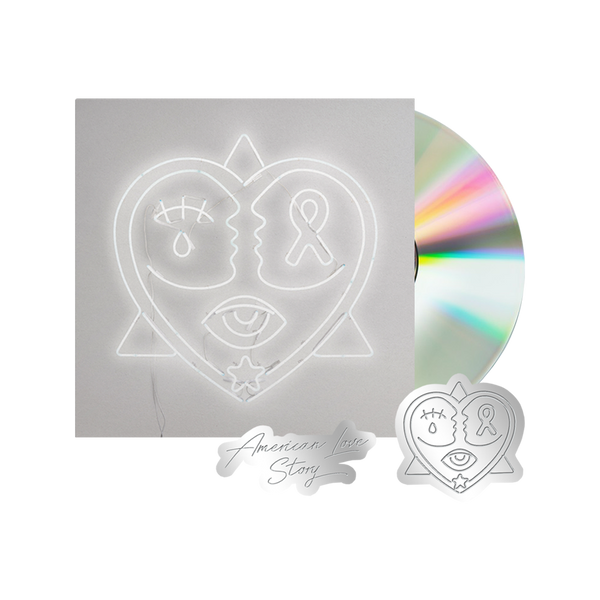 American Love Story CD + Pin Set Bundle