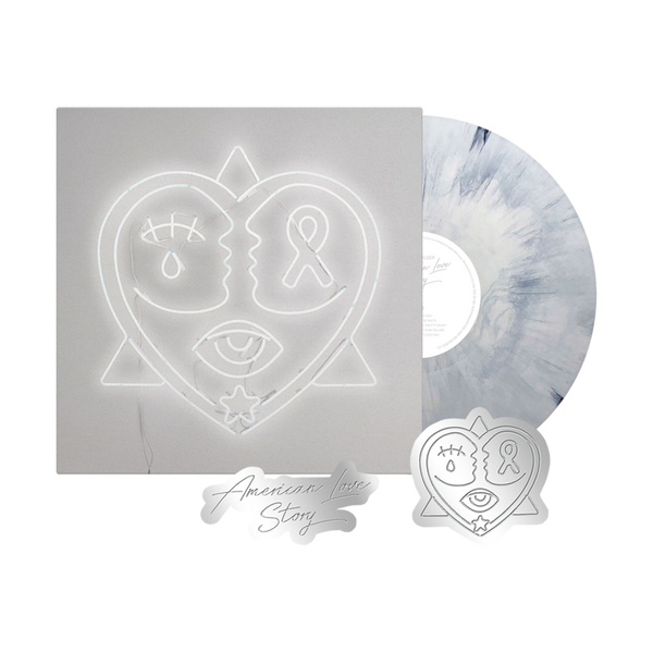 American Love Story Vinyl + Pin Set Bundle
