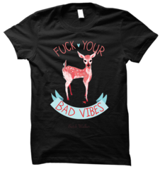 Bad Vibes Black Tee