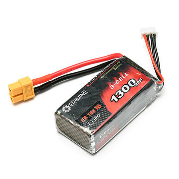 LiPo 11.1V 3S 1300mAh 30C Battery for Eachine EB185 Racing Drone