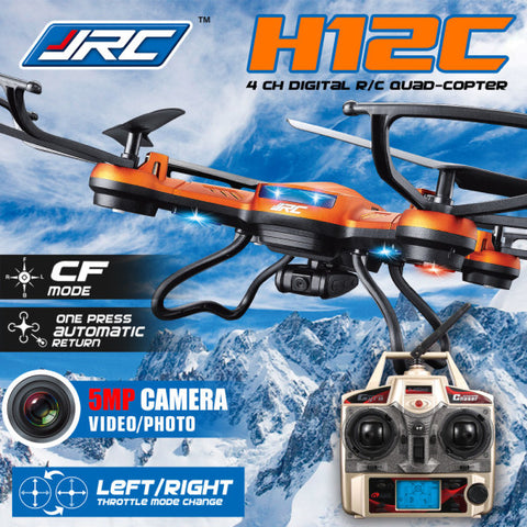 JJRC H12C Headless Mode One Key Return RC Quadcopter With 5MP Camera