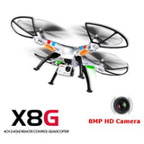 Syma X8G 2.4G 4CH With 5MP HD Camera Headless Mode RC Quadcopter