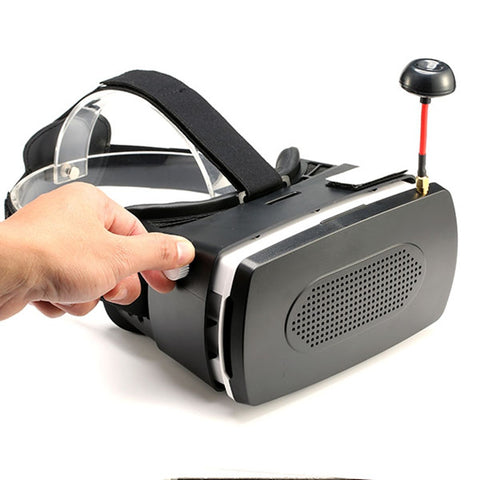 UFO FPV DIY FPV Goggles 5.8G 32CH 5 Inch 800 x 480 HD Snow Screen Goggles for FPV Racing