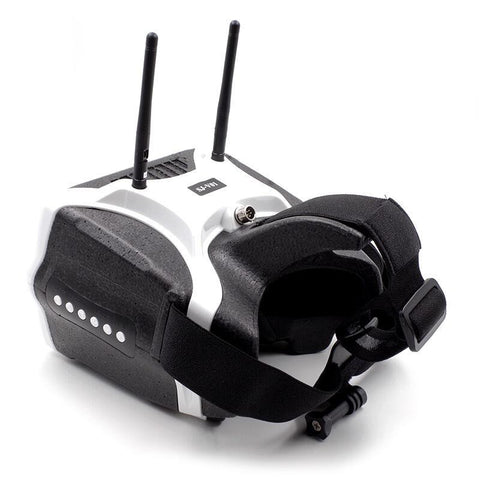 Skyzone SJ-V01 5.8G 40CH FPV Goggles 7 Inch 1280x800 HD Video Glasses with HDMI Input