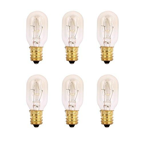 6 Pack E12 25W Bulbs For Mosaic Lamps