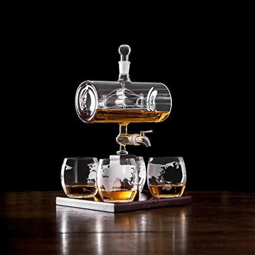 Royal Decanters Sailing Ship - Perfect Gift Set