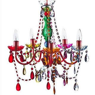 Original Gypsy Color 5 Light Chandelier