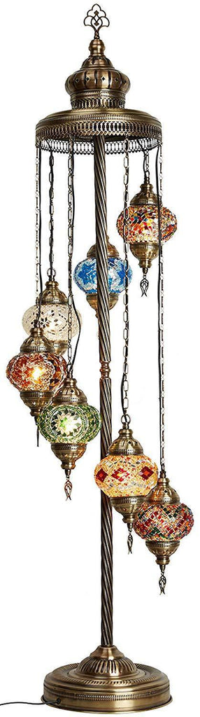 *HANDMADE* MOSAIC GLOBE LAMP LIMITED EDITION (ONLY FEW WILL BE MADE) - C