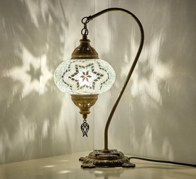 CUSTOMIZED MOSAIC SWAN LAMP (FREE AND FAST EXPEDITED 5 DAY SHIPPING)