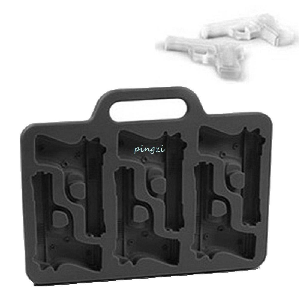 Pistol Ice Mold