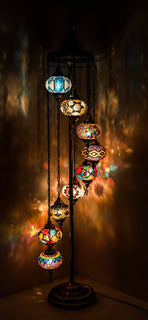 *HANDMADE* MOSAIC GLOBE LAMP LIMITED EDITION (ONLY FEW WILL BE MADE) BIG GLOBES