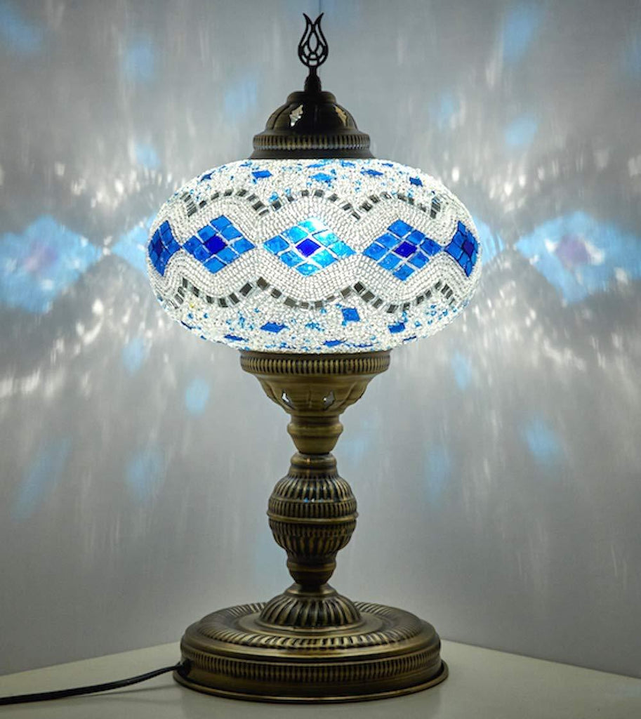 *HANDMADE* MOSAIC TABLE LAMP