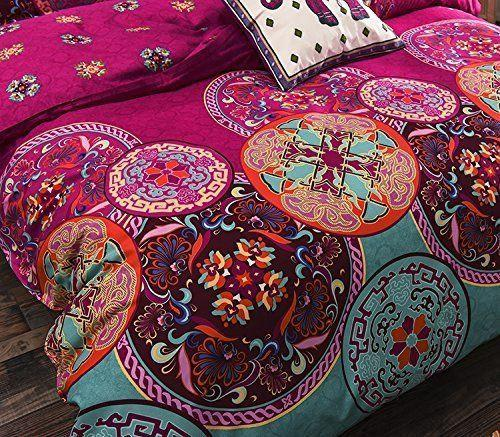 Boho  Duvet Cover 3Pcs Set