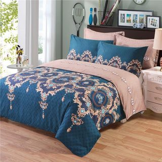 Bohemian Bed Duvet Cover Set Luxury European Comforter
