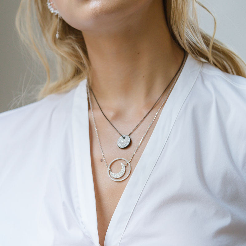 Navi Double Side Necklace