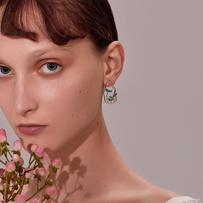 Plants Earrings