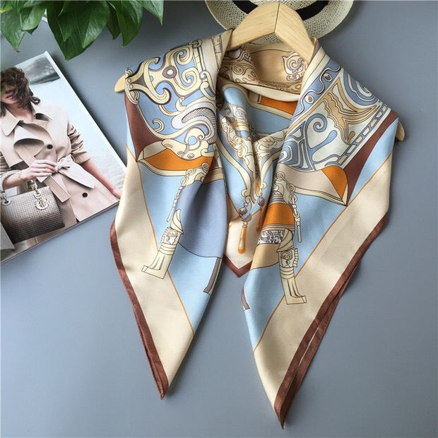 Treasure Silk Scarf