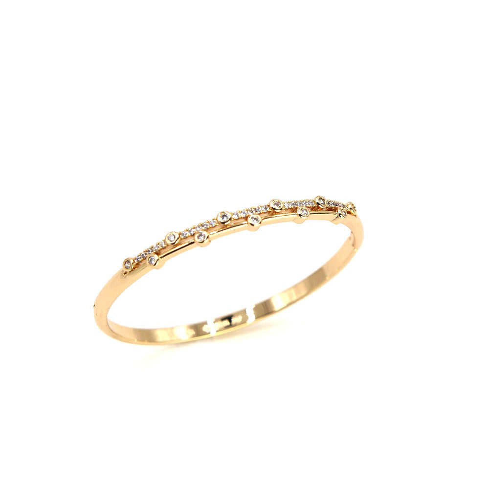 Rose Gold Galaxia Bangle