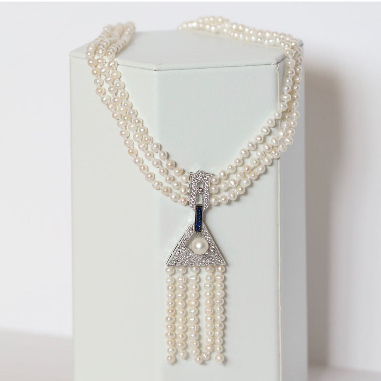 Capri Pearl Necklace