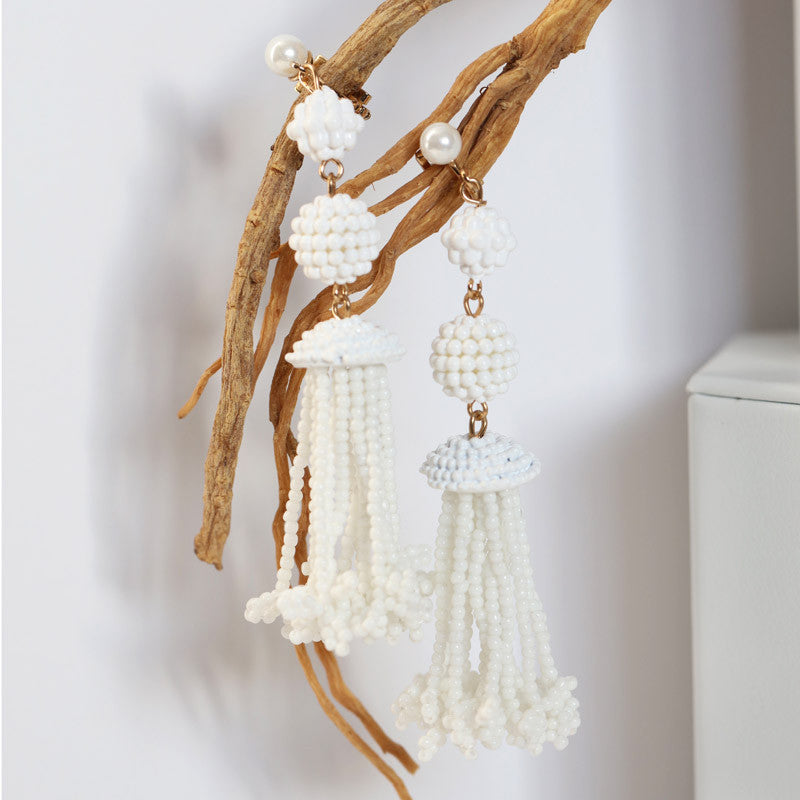 Dory Tassel Earrings