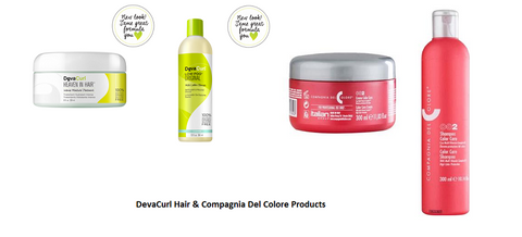 DevaCurl Hair & Compagnia Del Colore Products
