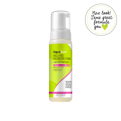 Frizz- Free Volumizing Foam