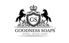 Goodness Soaps Unicorn logo