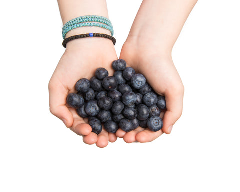 eat as many anti-oxidants as possible to combat pollution damage to your skin