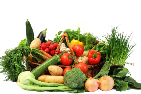 vegetables high in lutein will protect skin and eyes from blue light damage