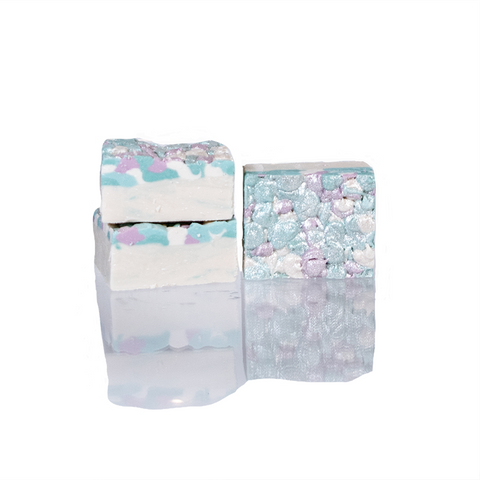 Opalescent Mermaid natural body soap, soap, Goodness Soaps