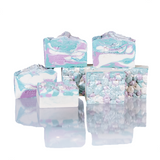 Opalescent, scented, Goodness Soaps
