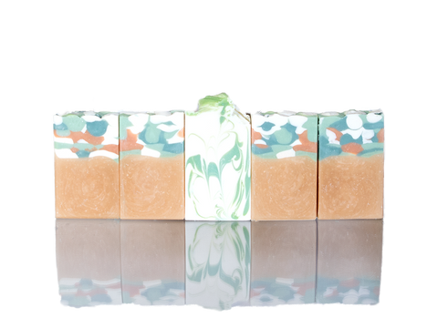 Ocean themed soap-Olive and coconut oil premium soap bars, body soap, Goodness Soaps