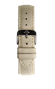 Beige suede leather strap - WOOD WATCHES Straps - ECO-FRIENDLY WATCHES HEADPEACE - HEADPEACE