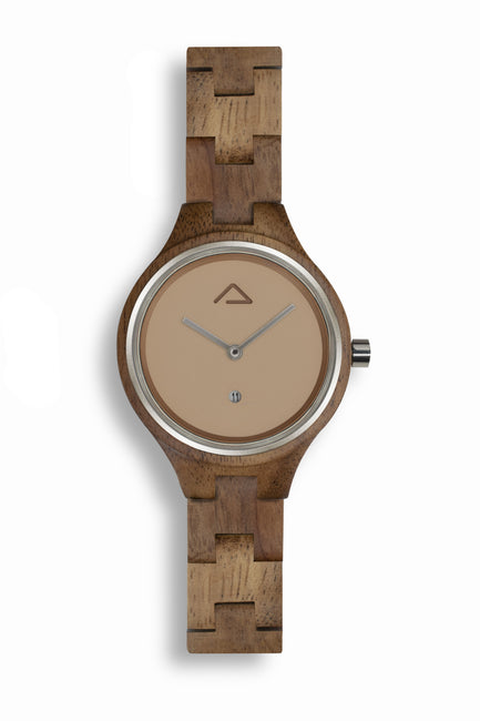 Aurora Champagne - WOOD WATCHES WOODWATCH - ECO-FRIENDLY WATCHES HEADPEACE - HEADPEACE