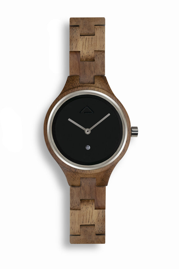 Aurora Black - WOOD WATCHES WOODWATCH - ECO-FRIENDLY WATCHES HEADPEACE - HEADPEACE