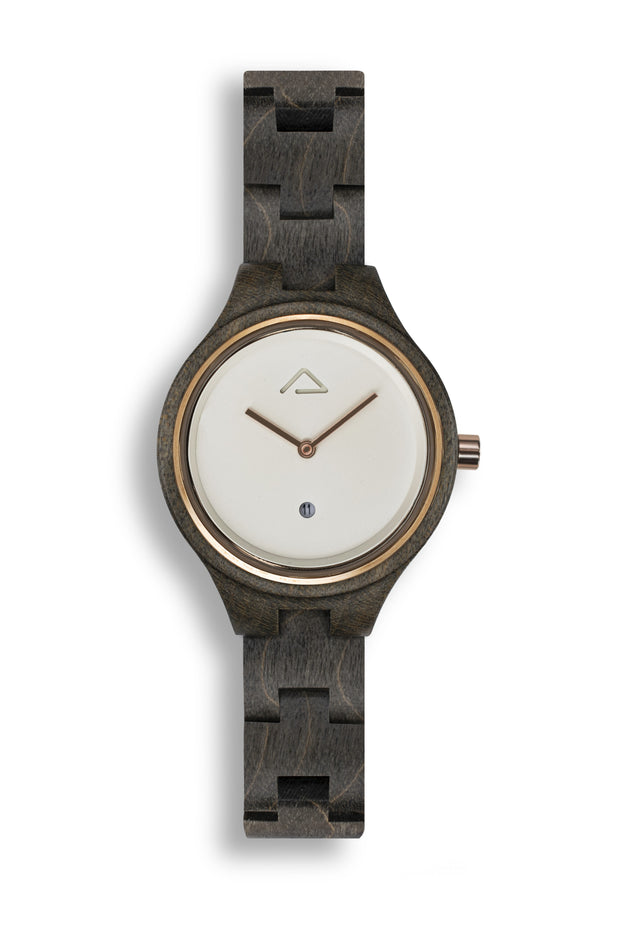 Victoria White - WOOD WATCHES WOODWATCH - ECO-FRIENDLY WATCHES HEADPEACE - HEADPEACE