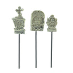 Halloween Mini Gravestone Pick Set