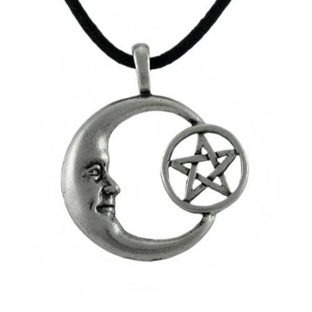 Celestial Necklace  • Pentacle Moon