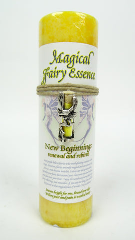Candle | Magical Fairy Essence | New Beginnings