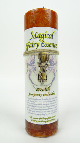 Candle | Magical Fairy Essence | Wealth