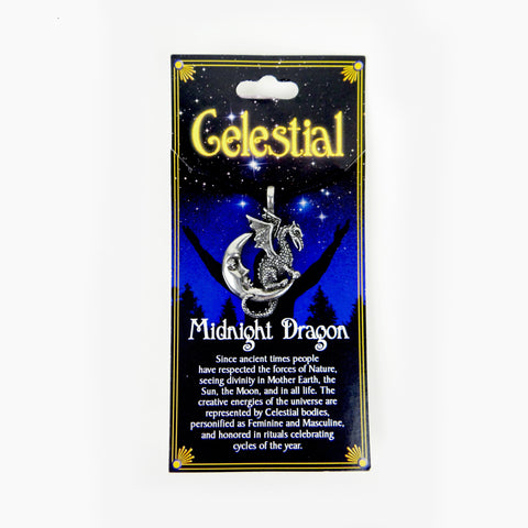 Necklace | Celestial | Midnight Dragon
