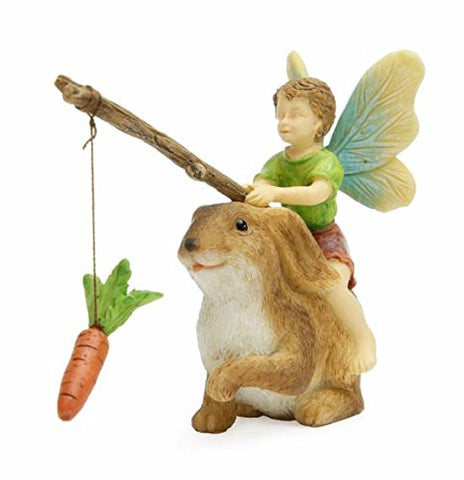 Fairy Riding Bunny