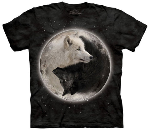Ying and Yang Wolves T-shirt