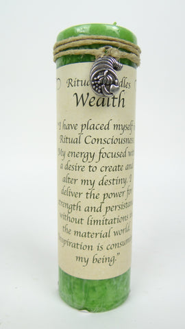 Candle | Ritual | Wealth