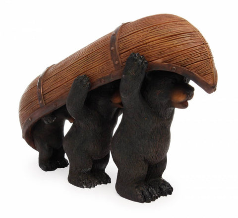Bears Carrying Canoe