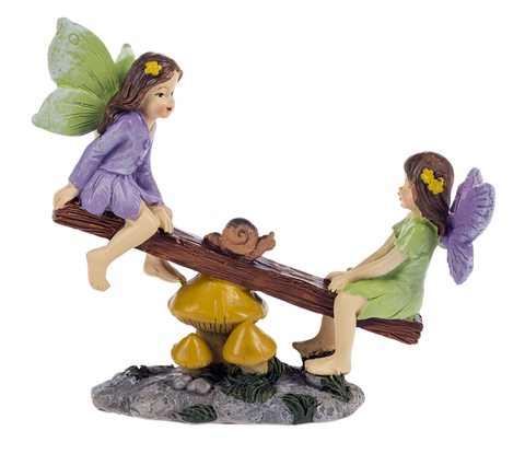 Fairies on See-Saw