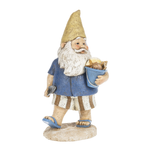 Bucket of Shells Beach Garden Gnome