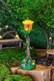 Spring Flower Light Up Lamp Post