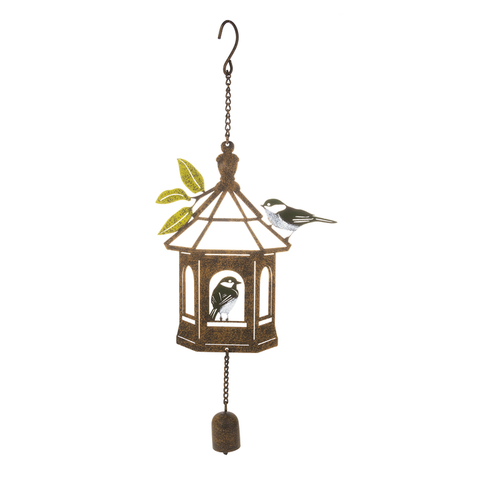 Rustic Bird House Chime