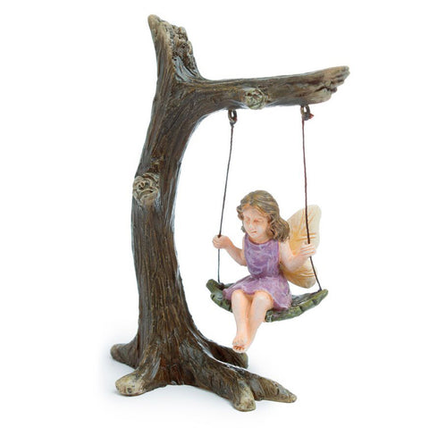 Fairy on Tree Swing
